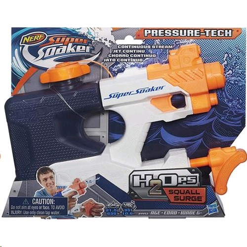 Nerf Super Soaker H2ops Squall Surgeb4443 P: 26692