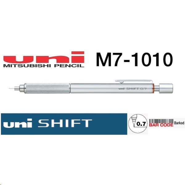 uni-shift-versatil-kalem-gumus-07-mm